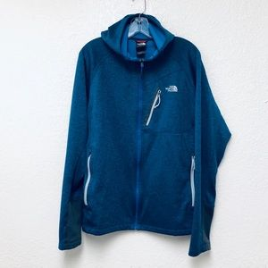 Blue North Face Full Zip Jacket Men's Size Large